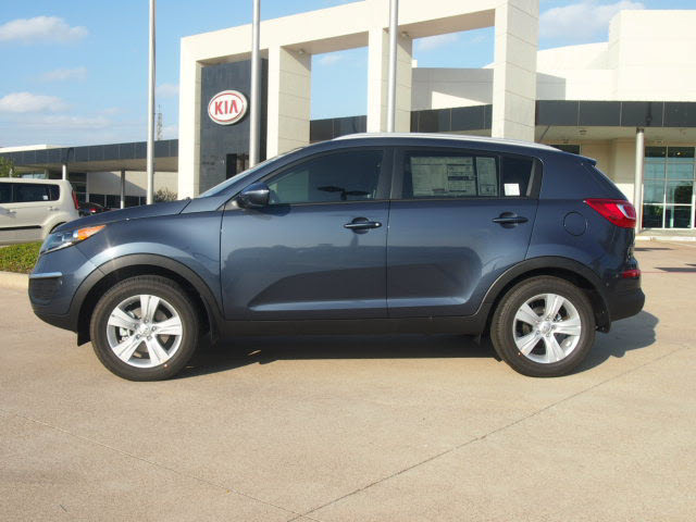 kia sportage 2013 dk blue lx gasoline 4 cylinders front wheel drive automatic 75150. Black Bedroom Furniture Sets. Home Design Ideas