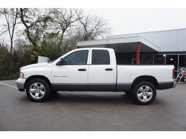dodge ram 1500 2005 white pickup truck slt gasoline 8 cylinders rear wheel drive automatic 76513 - White Dodge Truck 2005