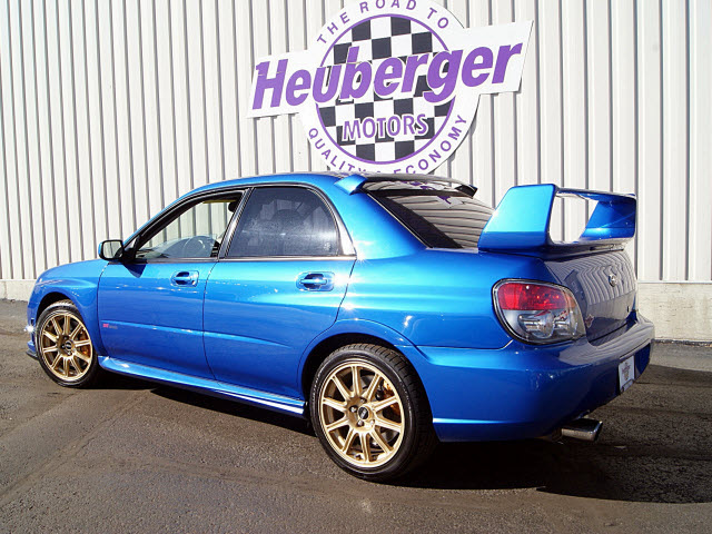 2006 Subaru Impreza WRX For Sale   havelock North Carolina  2006 Subaru Impreza Wrx Blue