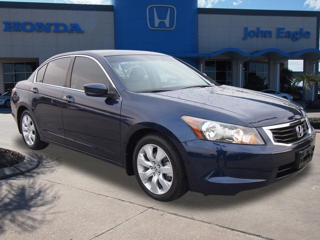 honda accord 2009 blue sedan ex l gasoline 4 cylinders front wheel drive automatic 77065 honda. Black Bedroom Furniture Sets. Home Design Ideas