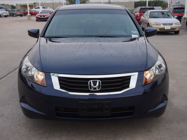 honda accord 2009 blue sedan ex l gasoline 4 cylinders front wheel ...