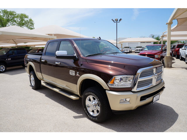 Ram Brown Laramie Longhorn Diesel Cylinders Wheel Drive Speed Automatic on Duramax Combustion Chamber