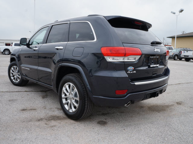 2014 gray suv overland gasoline 8 cylinders 4 wheel drive automatic