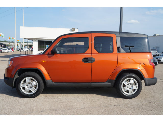 Honda Element 2009 Orange Suv Lx Gasoline 4 Cylinders Front Wheel Drive Automatic 76502 171 Honda