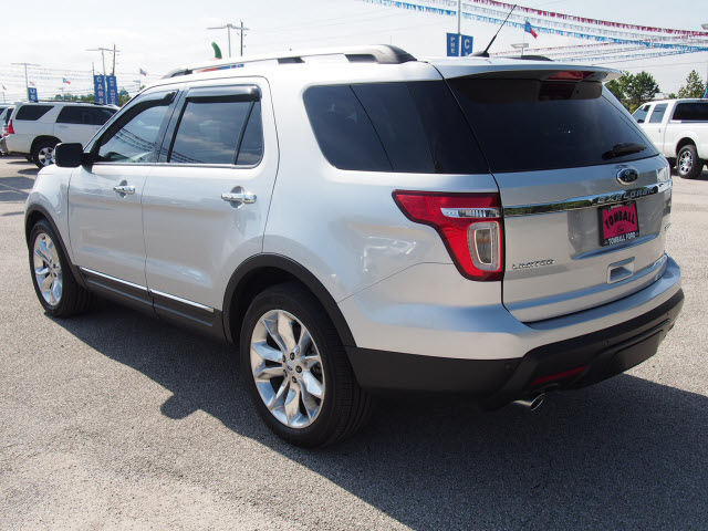 ford explorer 2013 silver suv limited flex fuel 6 cylinders 2 wheel drive automatic 77375 ford. Black Bedroom Furniture Sets. Home Design Ideas