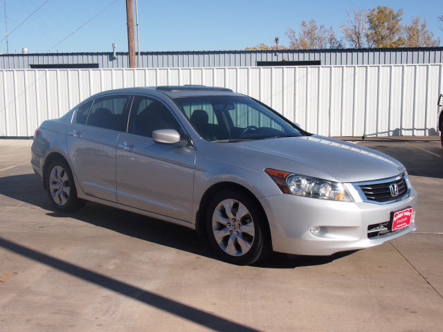 Honda Accord 2009 Silver Sedan Ex L V6 Gasoline 6 Cylinders Front Wheel Drive Automatic 79110