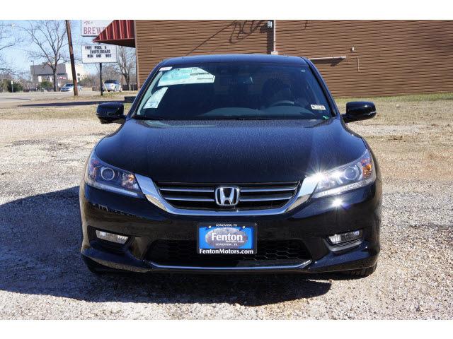 Honda accord 2014 black sedan ex l w navi 4 cylinders cont for 2014 honda accord black
