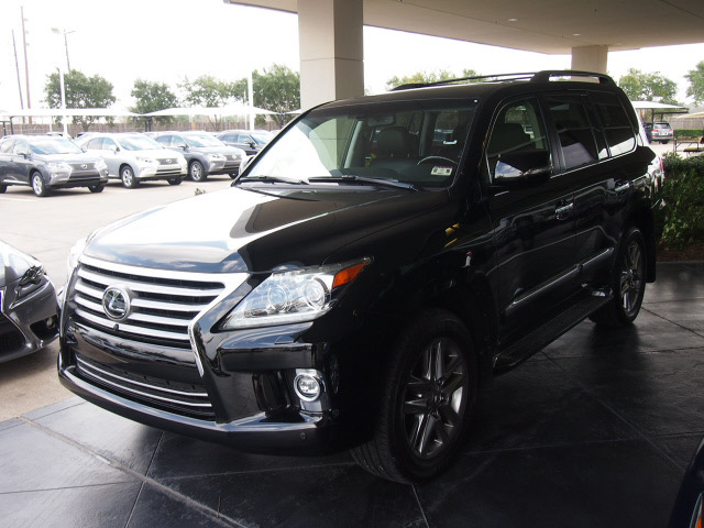 lexus lx 570 2014 black suv gasoline 8 cylinders 4 wheel drive ...