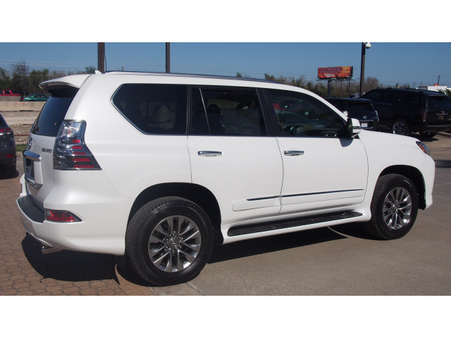 lexus gx 460 2014 white suv luxury 8 cylinders automatic 77546 lexus gx 460 2014 white suv. Black Bedroom Furniture Sets. Home Design Ideas