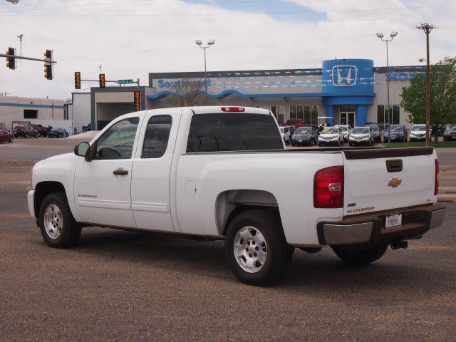 Chevrolet Silverado 1500 2011 White Pickup Truck Lt Flex