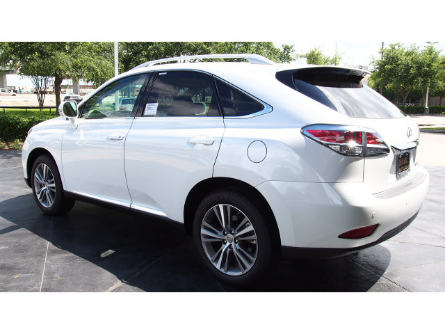 lexus rx 350 2015 white suv gasoline 6 cylinders front wheel drive ...