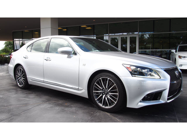 lexus ls 460 2014 silver sedan f sport gasoline 8 cylinders rear wheel drive automatic 77074. Black Bedroom Furniture Sets. Home Design Ideas